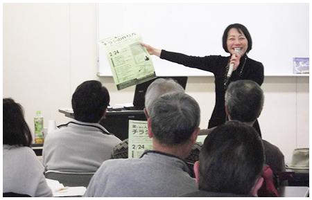 レジメ虎の巻を使って集客チラシの作り方セミナーの講師をすれば、初めて登壇した方もアンケート結果で高い評価が得られます。