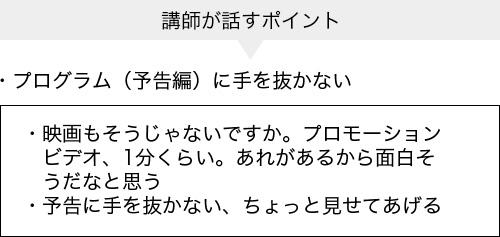 集客チラシの作り方レジメ虎の巻(一部抜粋)